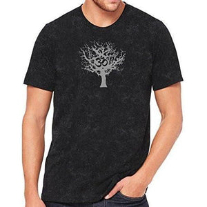 Mens Tree of Life Marble Tee Shirt - Yoga Clothing for You - 2
