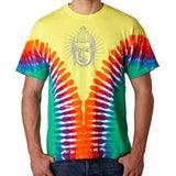 Mens Iconic Buddha V-Dye Tee Shirt - Yoga Clothing for You - 1