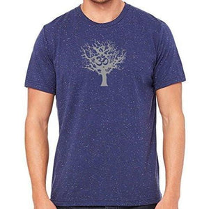 Mens Tree of Life Marble Tee Shirt - Yoga Clothing for You - 9