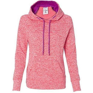 Womens Polyester Fleece Raglan Hoodie - Yoga Clothing for You - 5