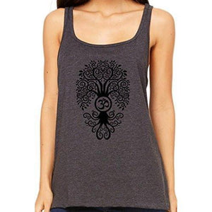 Womens Relaxed Fit Bodhi Tree Tank Top - Yoga Clothing for You - 2