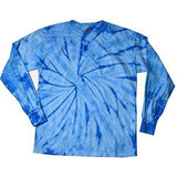 Mens Tie Dye Long Sleeve Tee Shirt - Yoga Clothing for You - 8