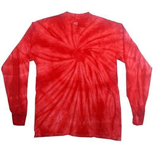 Mens Tie Dye Long Sleeve Tee Shirt - Yoga Clothing for You - 13