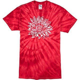 Mens Sketch Lotus Tie Dye Tee - Yoga Clothing for You - 6