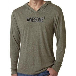 Mens Awesome Cubed Lightweight Hoodie Tee Shirt - Yoga Clothing for You - 4