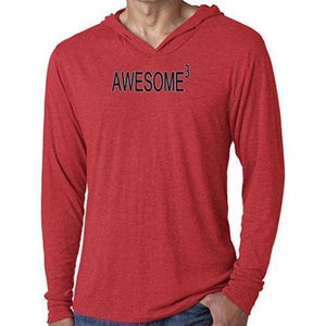 Mens Awesome Cubed Lightweight Hoodie Tee Shirt - Yoga Clothing for You - 7