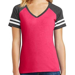 Womens Sporty V-neck Top - Yoga Clothing for You - 5