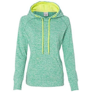 Womens Polyester Fleece Raglan Hoodie - Yoga Clothing for You - 2
