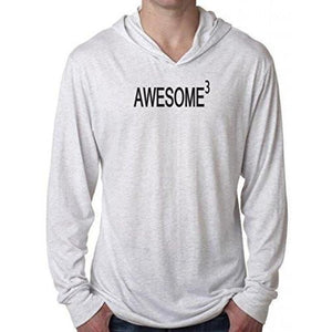 Mens Awesome Cubed Lightweight Hoodie Tee Shirt - Yoga Clothing for You - 8