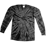 Mens Tie Dye Long Sleeve Tee Shirt - Yoga Clothing for You - 9