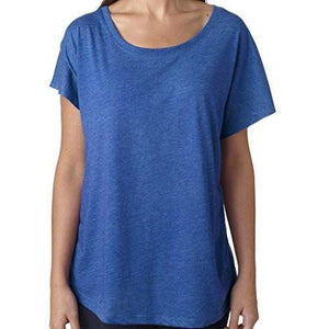 Womens TriBlend Dolman Tee Shirt - Yoga Clothing for You - 14