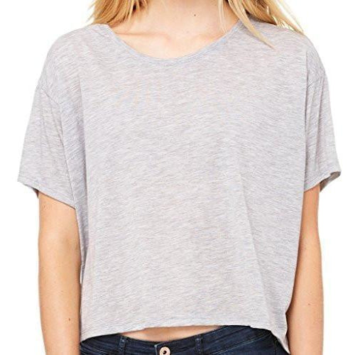 Womenss Flowy Boxy Tee Shirt - Yoga Clothing for You - 1