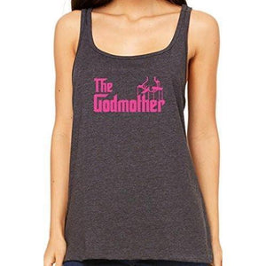 Womens The Godmother Relaxed Tank Top - Yoga Clothing for You - 2