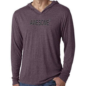 Mens Awesome Cubed Lightweight Hoodie Tee Shirt - Yoga Clothing for You - 6