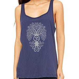 Womens Relaxed Fit Bodhi Tree Tank Top - Yoga Clothing for You - 3