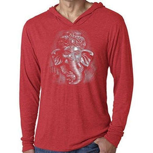 Mens 3D Ganesh Thin Hoodie Tee Shirt - Yoga Clothing for You - 8