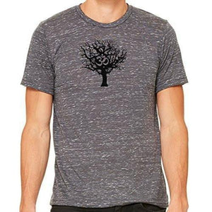 Mens Tree of Life Marble Tee Shirt - Yoga Clothing for You - 4