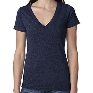 Womens Lightweight Deep V-neck Tee Shirt - Yoga Clothing for You - 11