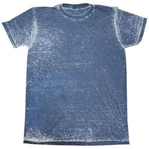 Mens Acid Wash Tee Shirt - Yoga Clothing for You - 1