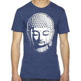 Mens Big Buddha Head Lighweight Tee Shirt - Yoga Clothing for You - 8