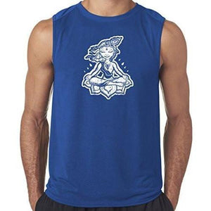 "Mens ""Krishna"" Muscle Tank Top Shirt - Yoga Clothing for You - 6"