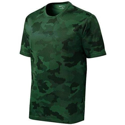Mens Digital Camo Tee Shirt - Yoga Clothing for You - 1