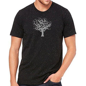 Mens Tree of Life Marble Tee Shirt - Yoga Clothing for You - 3