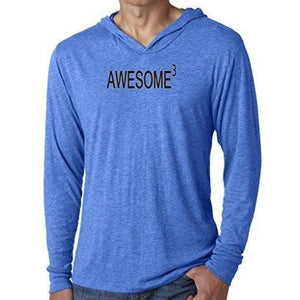 Mens Awesome Cubed Lightweight Hoodie Tee Shirt - Yoga Clothing for You - 1