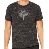 Mens Tree of Life Marble Tee Shirt - Yoga Clothing for You - 1