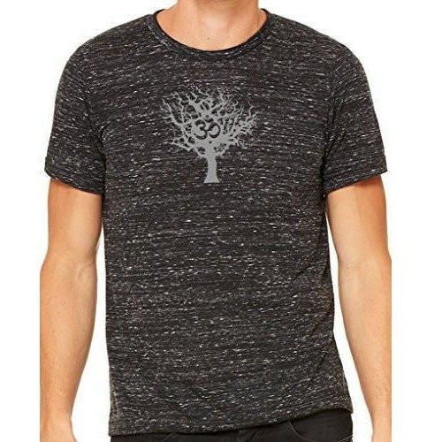 Yoga Clothing for You Mens Tree of Life Marble Tee Shirt