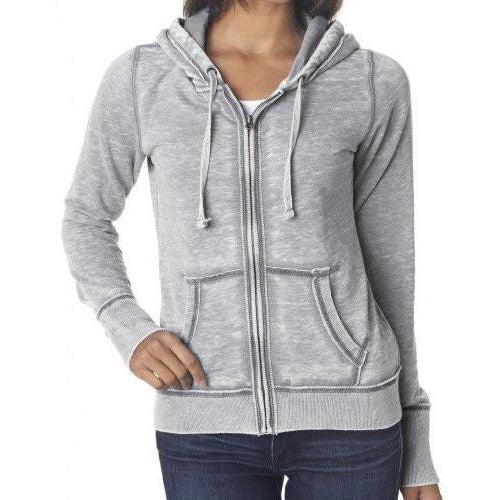 Womens Zen Full Zip Hoodie - Yoga Clothing for You - 1