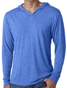 Mens Thin Lightweight Hoodie Tee Shirt
