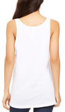 Womens Triblend Racer-back Yoga Tank Top