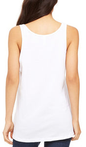 Womens Relaxed Peace Earth Tank Top