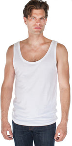 Yoga Clothing For You Men's Bamboo Organic Tank - Made in USA