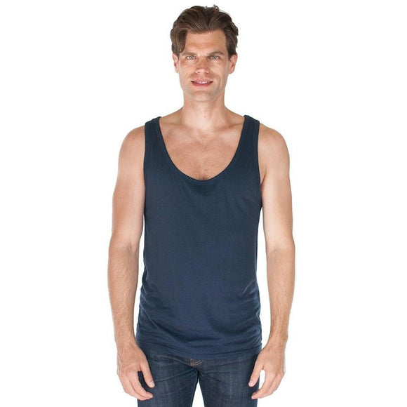 Men's Bamboo Organic Tank - Yoga Clothing for You