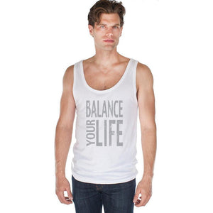Men's Balance Bamboo Organic Yoga Tank Top - Yoga Clothing for You - 4
