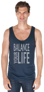 Men's Balance Bamboo Organic Yoga Tank Top - Made in USA