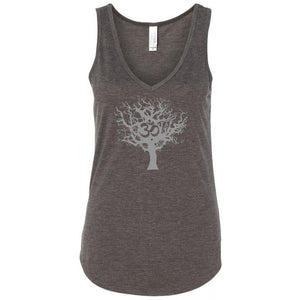 Ladies Tree of Life Flowy V-Neck Yoga Tank Top - Yoga Clothing for You - 3