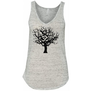 Ladies Tree of Life Flowy V-Neck Yoga Tank Top - Yoga Clothing for You - 7