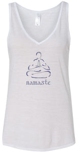 Womens Flowy Tank Top - Line Warrior