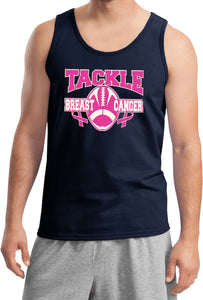 Breast Cancer Tank Top Tackle Cancer