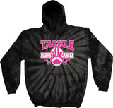 Breast Cancer Hoodie Tackle Cancer Tie Dye Hoody