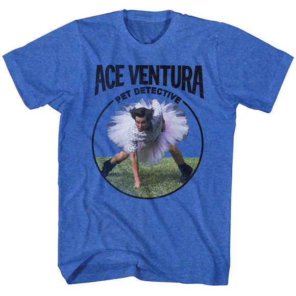 Ace Ventura T-Shirt Pet Detective Football Tutu Royal Tee