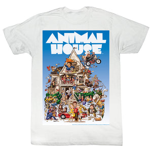 Animal House T-Shirt Big Mommas House White Tee