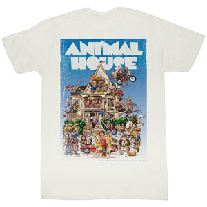 Animal House Tall T-Shirt Big Mommas House Poster Time White Tee