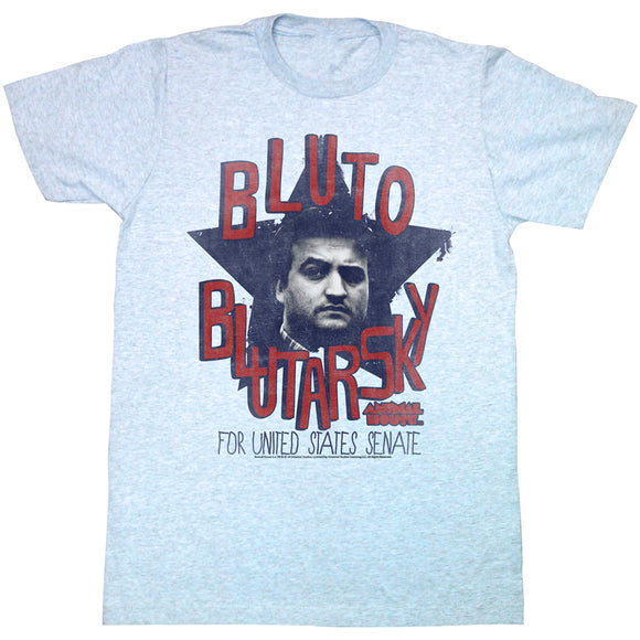 Animal House T-Shirt Bluto Blutarsky Grey Heather Tee