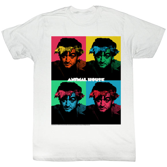 Animal House T-Shirt Warhol Boxes White Tee
