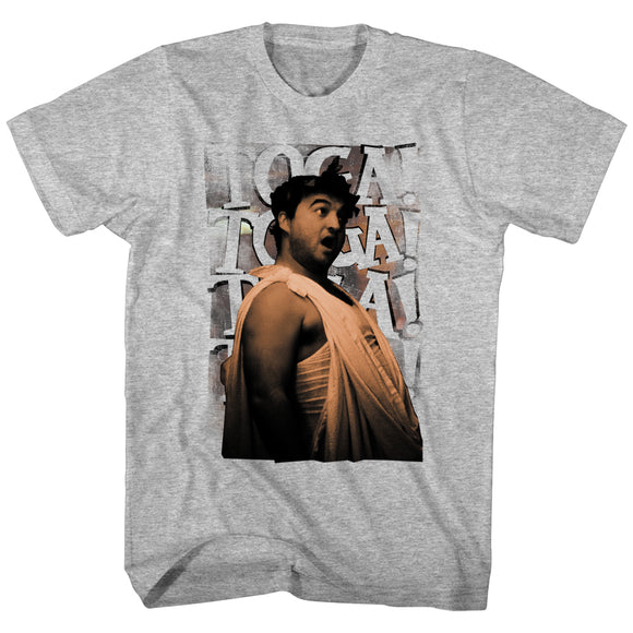 Animal House T-Shirt Toga Chant Grey Heather Tee