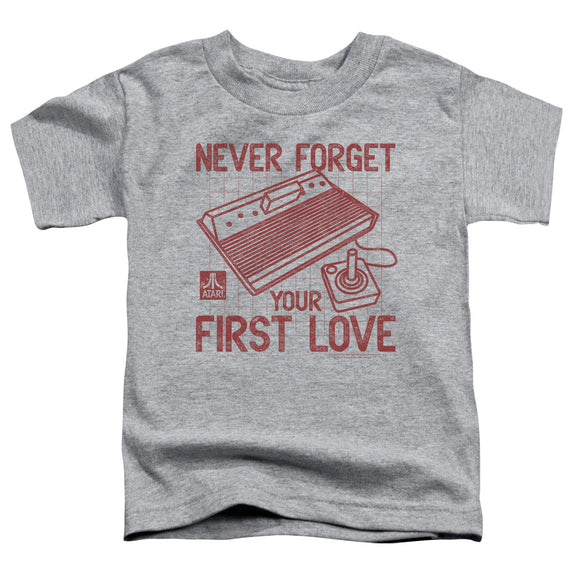 Atari Toddler T-Shirt Never Forget Your First Love Heather Tee